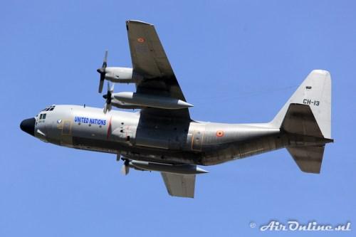 CH-13 Lockheed C-130H Hercules BAF