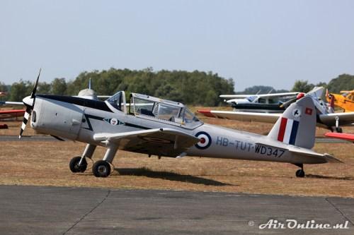 HB-TUT / WD347 De Havilland Canada DHC-1 Chipmunk 22