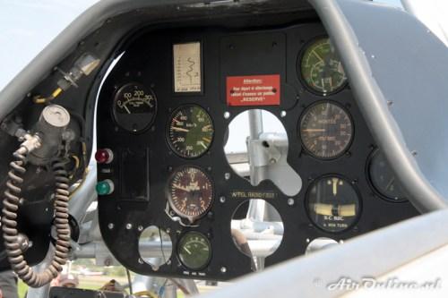 U-323 N.A. Harvard IIB cockpit