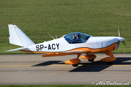 SP-ACY Aero AT-3-R100, Lelystad 20 maart 2011