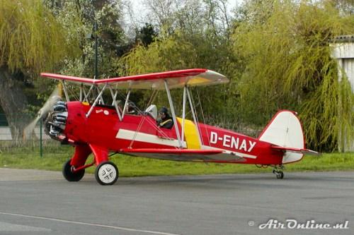D-ENAY Focke-Wulf Fw44J Stieglitz Hamm (D), 17 april 2004