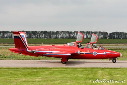 F-GLHF Fouga CM-170 Magister (Lelystad, 23 september 2011)