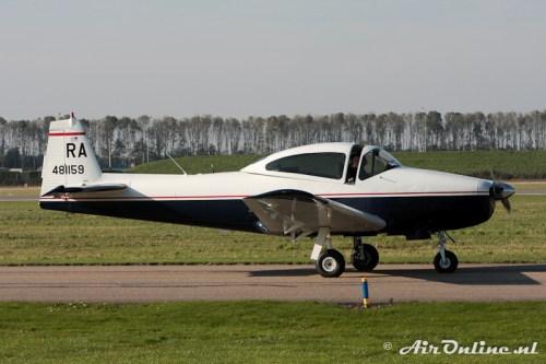 N212L / RA 481159 Ryan Navion A (1948), Lelystad 22 oktober 2011