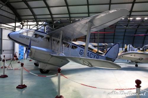 G-ACYR D.H.89 Dragon Rapide (Olley Air Services Ltd)
