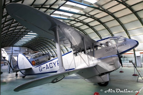 G-ACYR D.H.89 Dragon Rapide (Olley Air Services Ltd)