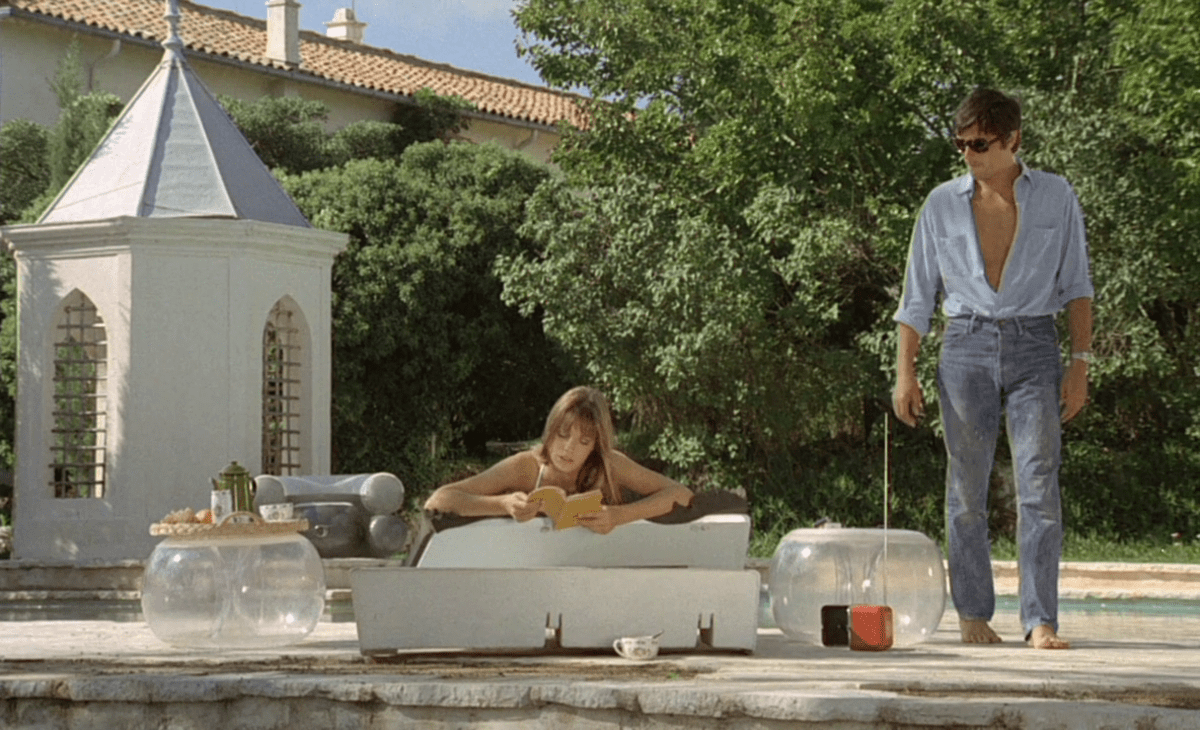 When a journalist's (romy schneider) boyfriend (alain delon) allows her former lover (maurice ronet) to drown, the couple must answer questions from an. 32 Stills From 'La Piscine' - The Most Stylish Film In Movie History - Airows