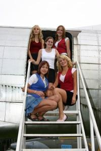shora: Ivana, Katka, Petra, Šárka, Jana