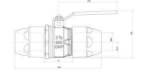 airnet 50mm valve