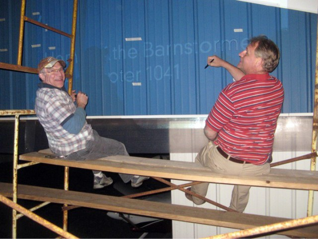eaa chapter 1041 hangar painting project 3 Airplane GEEK EAA Chapter 1041 Hangar Painting Project