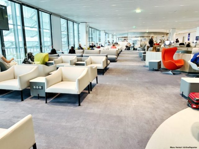 Air France Lounge CDG - Upstairs