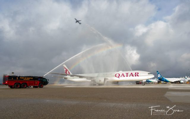 qatar begins 4x weekly service to seattle first sea inaugural since pandemic began Airplane GEEK Qatar begins 4X weekly service to Seattle, first SEA inaugural since pandemic began