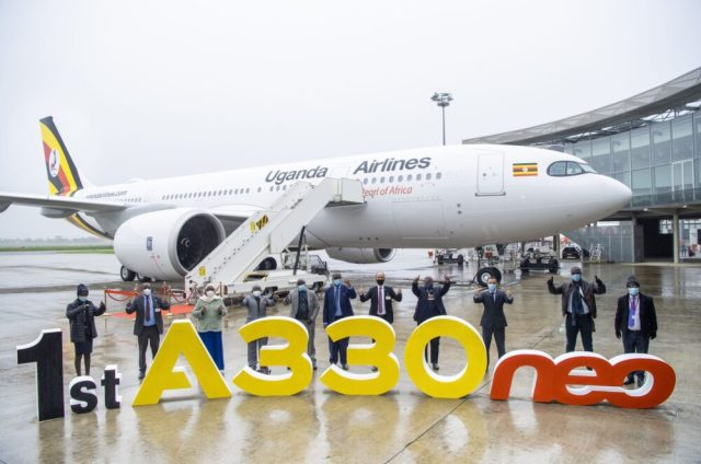 A330neo delivery to Uganda Airlines