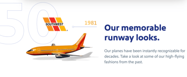 southwest airlines celebrates 50 years with a special podcast series 4 Airplane GEEK Southwest Airlines celebrates 50 Years with a special podcast series