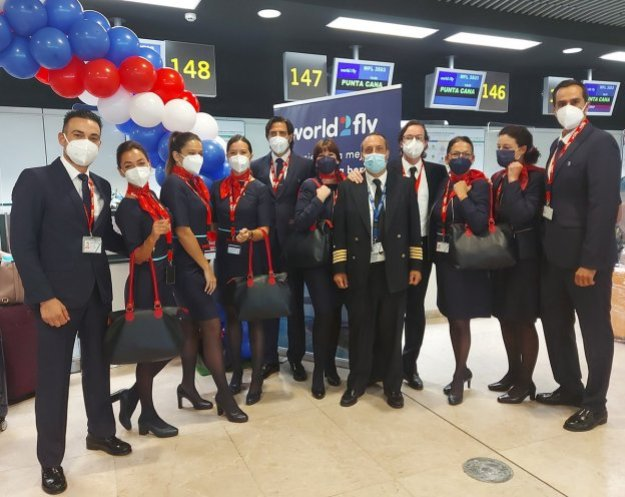 world2fly launches its first route Airplane GEEK World2Fly launches its first route
