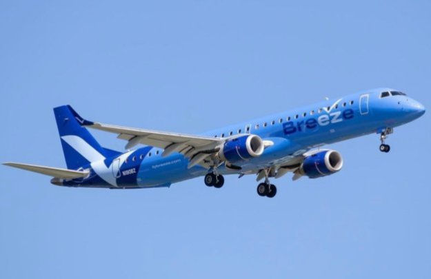 breeze airways trims back its schedule due to late arriving deliveries no cities dropped 1 Airplane GEEK Breeze Airways trims back its schedule due to late arriving deliveries, no cities dropped