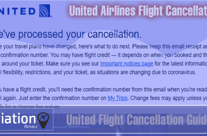 how to cancel united airlines flight ticket Airplane GEEK How to Cancel United Airlines Flight Ticket?