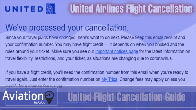 How to Cancel United Airlines Flight Ticket?