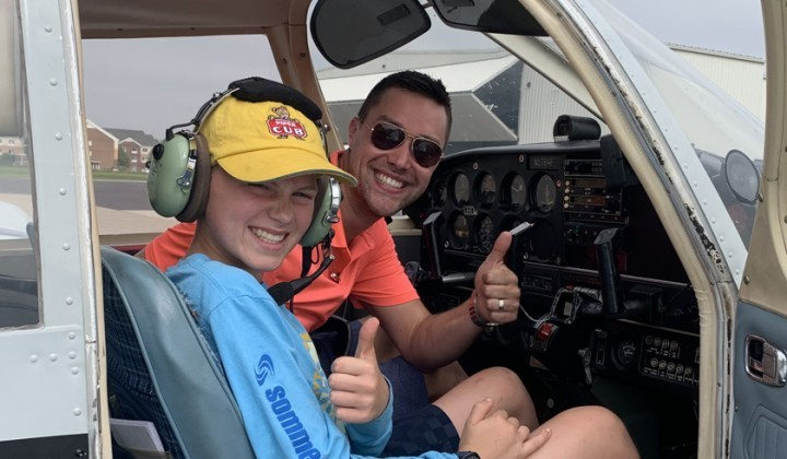 international young eagles day a success Airplane GEEK International Young Eagles Day a Success!