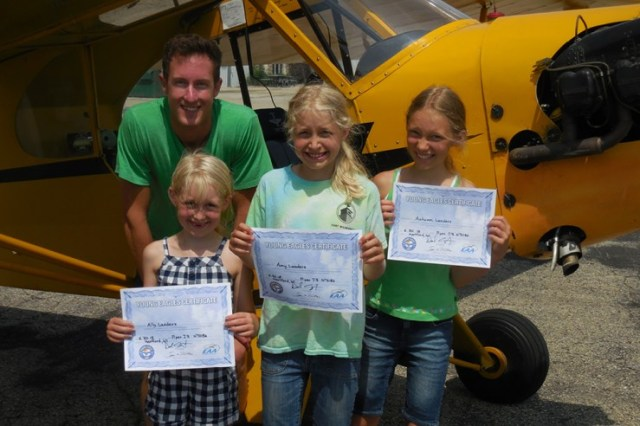 Three Sisters Became New Young Eagles with Pilot Dan