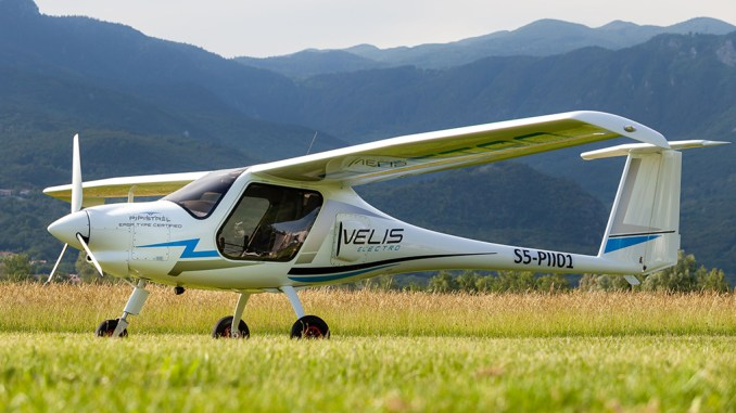 slovenian army to become the first military operator of an all electric trainer Airplane GEEK Slovenian Army To Become The First Military Operator of An All-Electric Trainer