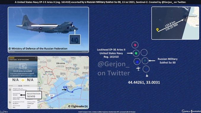 """using ads b data and satellite imagery to observe interesting military aircraft movements and intercepts Airplane GEEK Using ADS-B Data And Satellite Imagery To """"Observe"""" Interesting Military Aircraft Movements (And Intercepts)"""