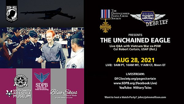 The Unchained Eagle live Q&A.