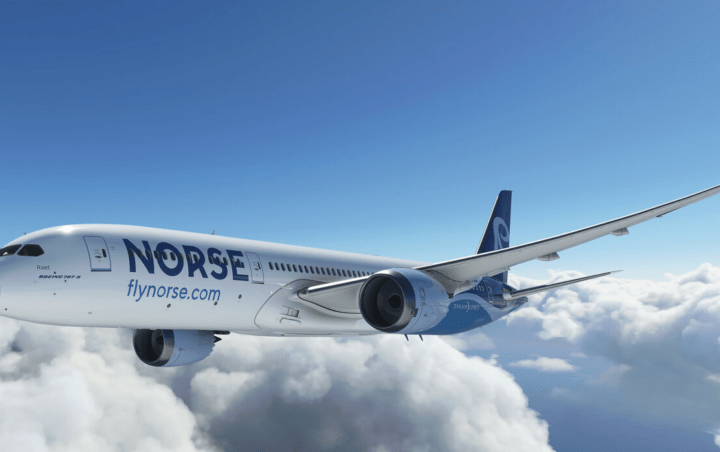 norse atlantics first boeing 787 emerges fully painted Airplane GEEK Norse Atlantic's First Boeing 787 Emerges Fully Painted
