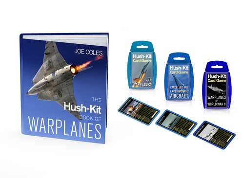 The Hush-Kit Book of Warplanes by Joe Coles (editor): Unbound