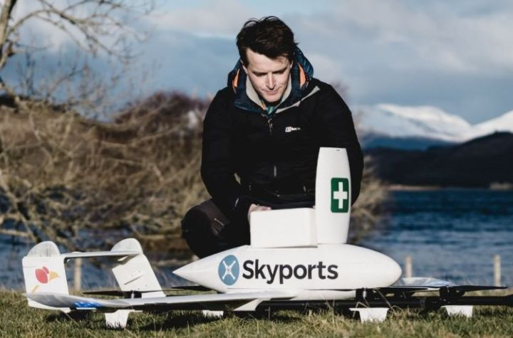 swoop aero and skyports extend partnership to take drone deliveries to new heights across europe and the americas Airplane GEEK Swoop Aero and Skyports extend partnership to take drone deliveries to new heights across Europe and the Americas