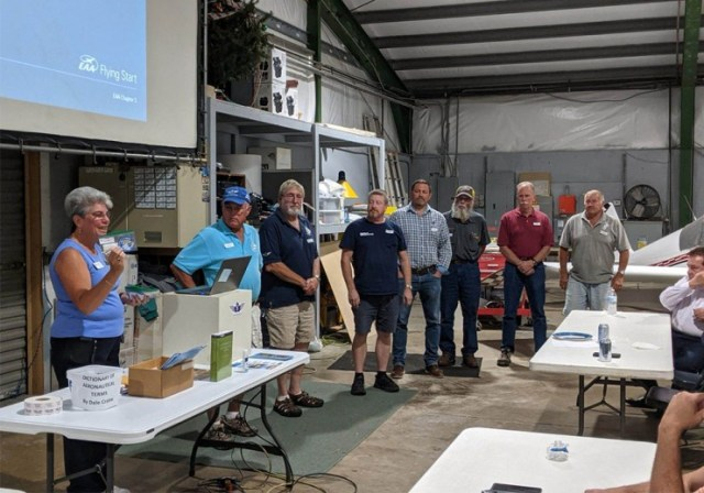 EAA Chapter 5 Mentor Pilot Recognition