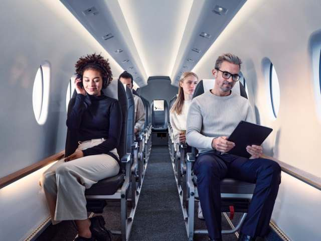 mesa airlines excited to fly heart aerospaces 19 seat aircraft 1 Airplane GEEK Mesa Airlines Excited To Fly Heart Aerospace's 19-Seat Aircraft