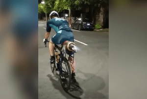put a turbojet on a bicycle this guy did it heres video proof Airplane GEEK Put A Turbojet On A Bicycle. This Guy Did It. Here's Video Proof!
