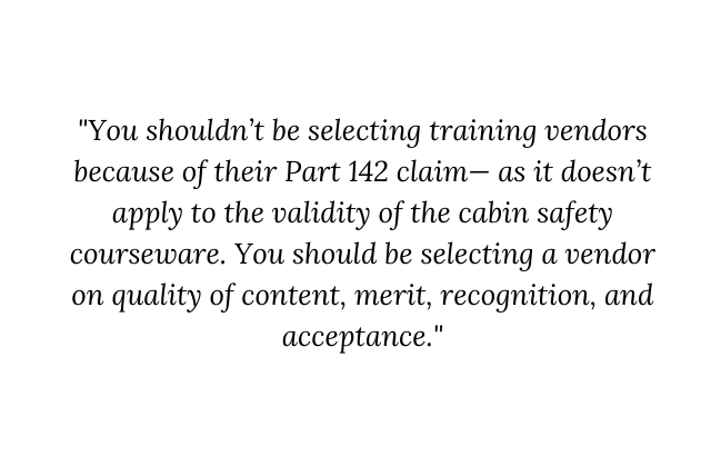 the name game part 3 the rise of misinformation for cabin safety training cfr part 142 and the g550ec 1 Airplane GEEK THE NAME GAME – Part 3: The Rise of Misinformation for Cabin Safety Training – CFR Part 142 and the G550EC