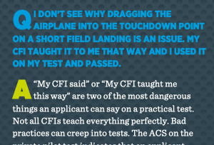 """but my cfi told me Airplane GEEK """"But, My CFI Told Me…"""""""