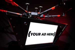 drone banner ads