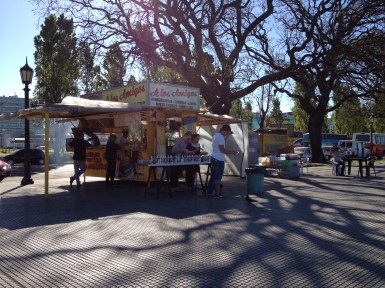 Street Food Vendors at the Ecological Reserve