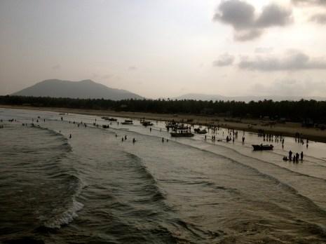 Beach at Murudeshwar