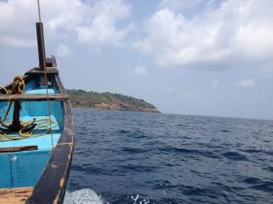 Boat to Netrani Island