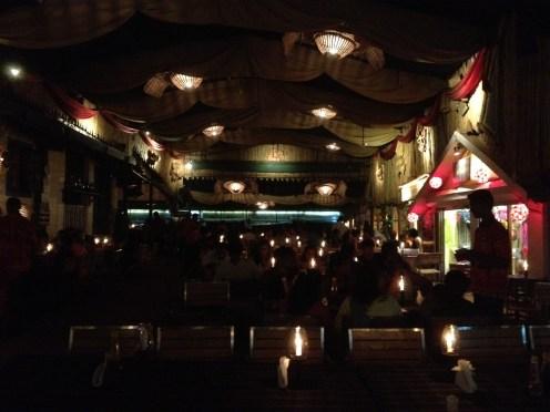 Britto's at night
