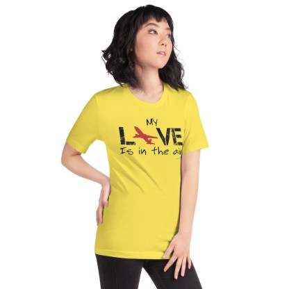 airplaneTees MY Love is in the air tee... Short-Sleeve Unisex 51