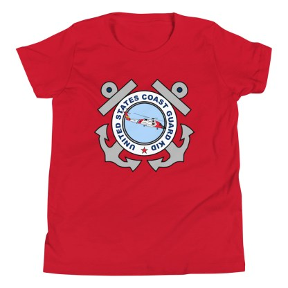 airplaneTees Coast Guard Kid tee... Youth Short Sleeve 11