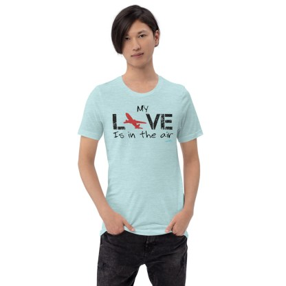 airplaneTees MY Love is in the air tee... Short-Sleeve Unisex 4