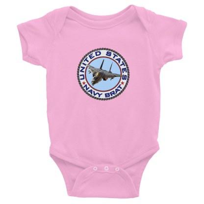 airplaneTees US Navy Brat Onesie... Rabbit Skins Infant Bodysuit 5