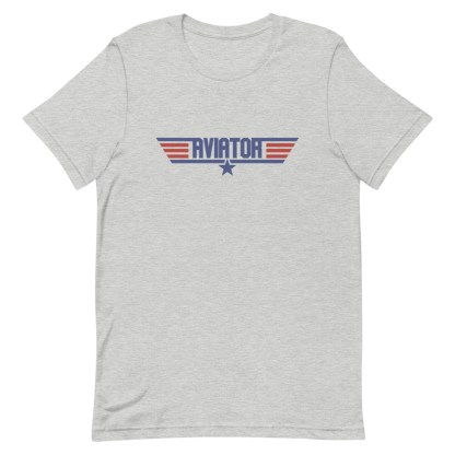 airplaneTees Aviator Maverick tee - Short-Sleeve Unisex 8