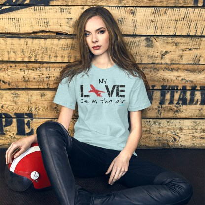 airplaneTees MY Love is in the air tee... Short-Sleeve Unisex 15