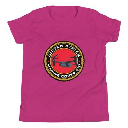 airplaneTees US Marine Corps Kid tee... Youth Short Sleeve 10
