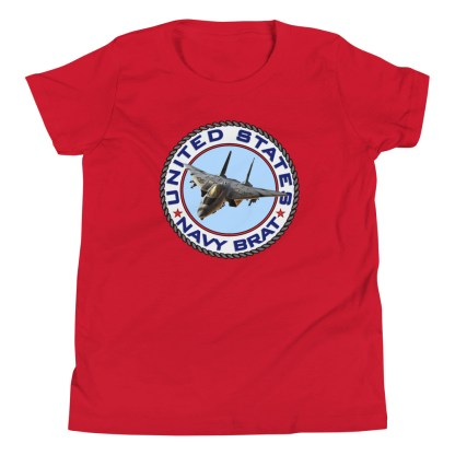 airplaneTees US NAVY BRAT youth tee... w/Back Printed - Youth Short Sleeve 20
