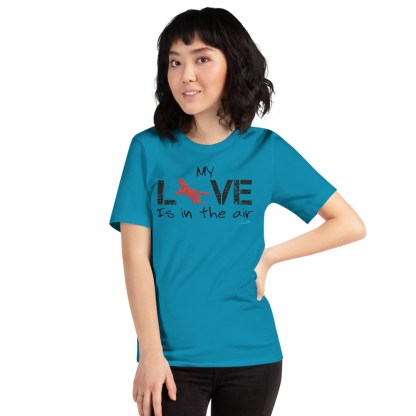 airplaneTees MY Love is in the air tee... Short-Sleeve Unisex 43