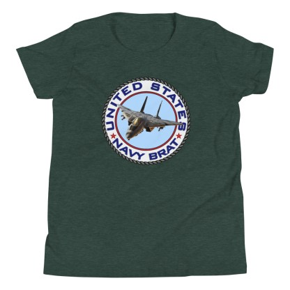 airplaneTees US NAVY BRAT youth tee... w/Back Printed - Youth Short Sleeve 5