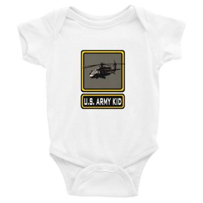 airplaneTees US Army Kid Onesie... Rabbit Skins Infant Bodysuit 4